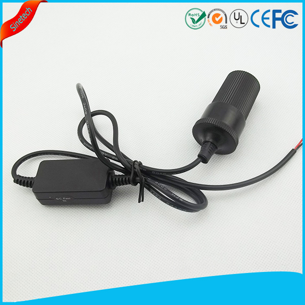 Black Step Up 12v DC to 36v DC Power Supply converter with DC Plug