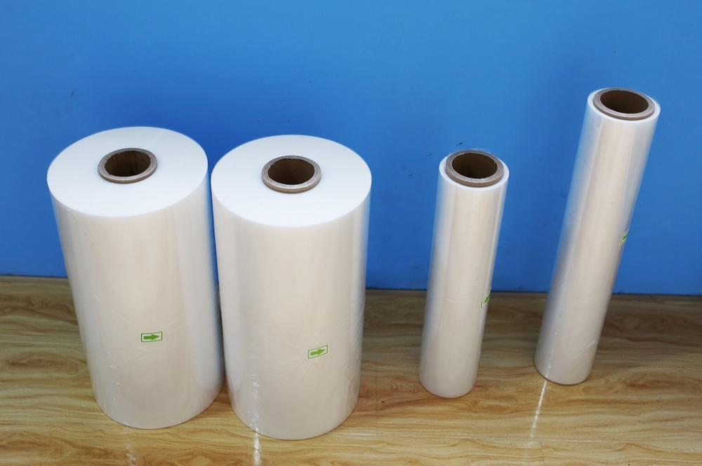 Book packaging china supplier pof polyolefin shrink wrap film