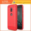 2017Factory Wholesale Carbon Fiber Cellphone Waterproof Case For Moto g4 Play