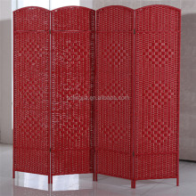 Floor Wood Hanging Commercial Hanging Curtain Room Divider