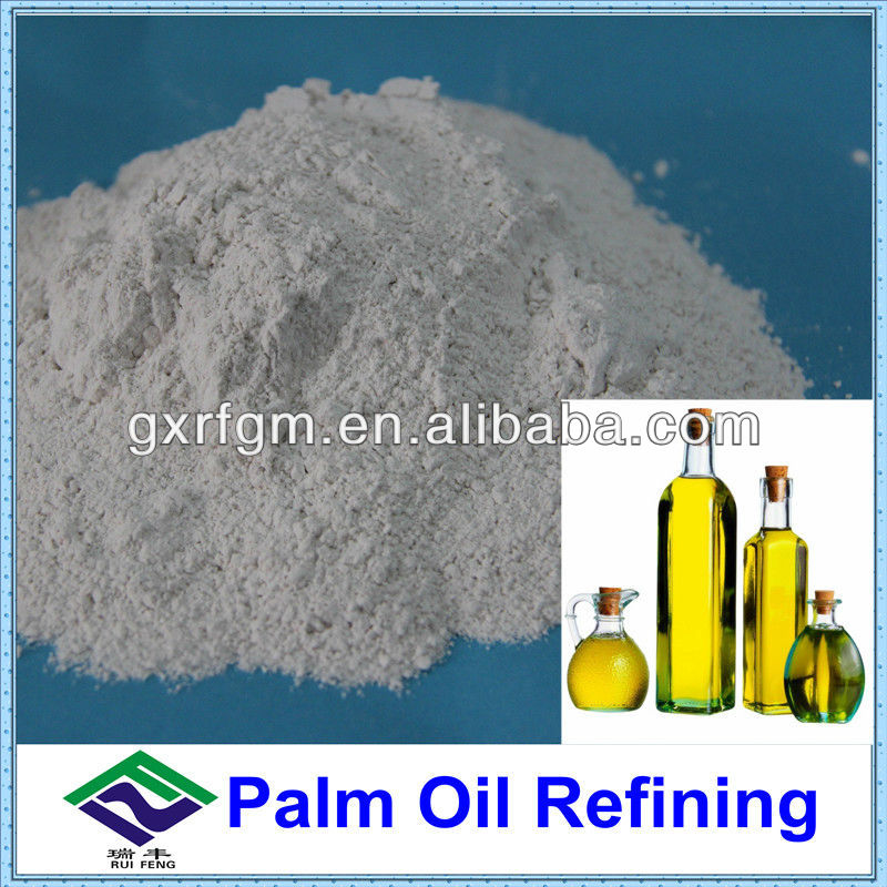 Oil absorbent powder for palm oil