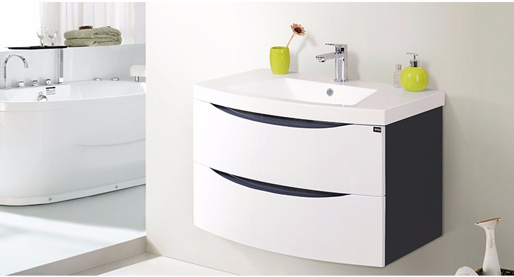 EC818-01 Wall mounted MDF bathroom cabinet modern