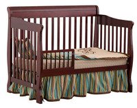 luxury solid wood infant bed / baby cot