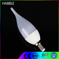 Low cost low consumption led energy saving e14 led light bulbs