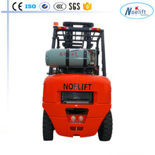 3T 3.5T 4T lift height 3000mm-6000mm gasoline/gas LPG forklift with CE for developed country