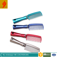 Plastic Wide Tooth Hair Comb With