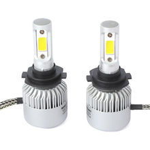 Pair <strong>Car</strong> LED Headlight Kit Fog <strong>Lamp</strong> Bulbs White 6000K 9005 HB3 200W DC 9-30V