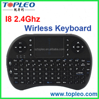 I8 Wireless Mouse Mini Wireless Keyboard 2.4G with Touchpad Handheld Keyboard for PC Android TV Box