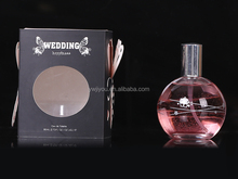 Spray form and female gender famous french spherical bottle perfumes