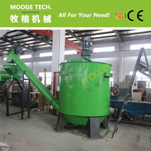 PET bottle hot washing tank for plastic recycling machine/PET washing line