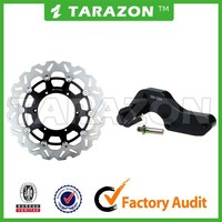 Motorcycle 320mm Front Floating Wave Brake Disc Disk Rotor With Bracket For YAMAHA YZ250 WR250