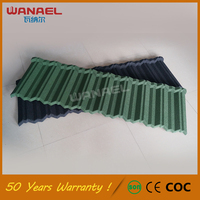 Metal Roofing 50-Year Warranty Wanael Traditional Aluminum Shingles, Curved Eagle Stone Life Tile Roof Tile