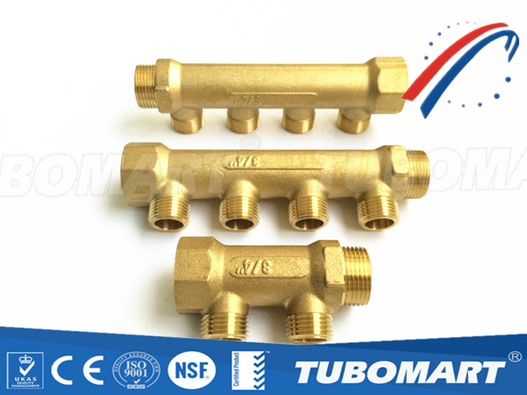 Hot floor heating systems manifold underfloor heating manifold for water supply System