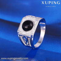 12048 XUPING fancy engagement finger ring designs for men,man diamond ring