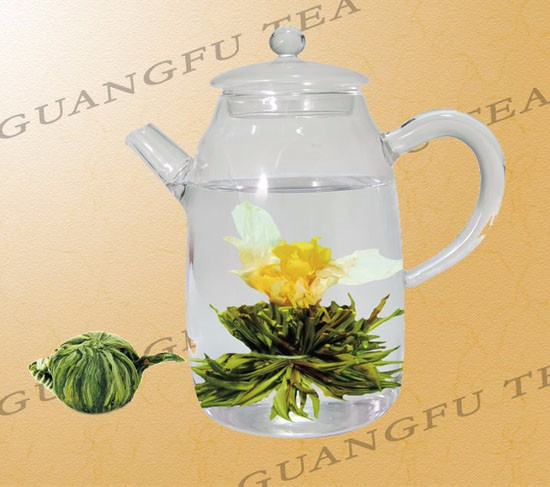 Beauty Flowering jasmine flowering tea ball blooming tea