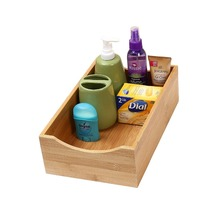 Home & Kitchen Bamboo Lingerie Drawer or Shelf Organizer Box