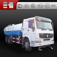 Sinotruk Howo 6x4 10cbm-18cbm Water Truck for sale