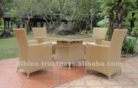 5Pcs Of Garden Dining Set 2012/ rattan furniture