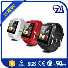 2015 Cheap U8 Smart Watch Heart Rate Monitor Smart Watch with bluetooth connect