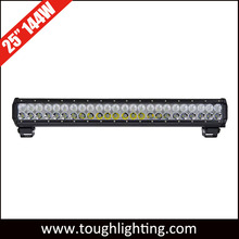 25INCH 144W LED DRIVING LIGHT BAR 12V 24V