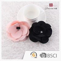 Hot Sell Graceful Unique Design Colorful Flower Rhinestone Hair Clips Headdress