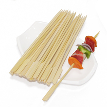 Environmental 4 in 1 bbq bamboo skewer professional factory