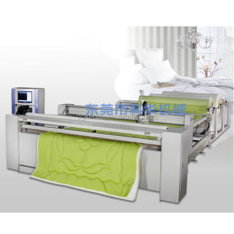 China advanced full auto single needle quilting machine