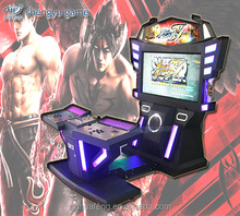 """ 47 inch LCD screen "" 3D tekken 6 arcade machines cabinet fighting video game machine with coin acceptor"