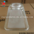 Machine pressed pendant glass lampshades wholesale