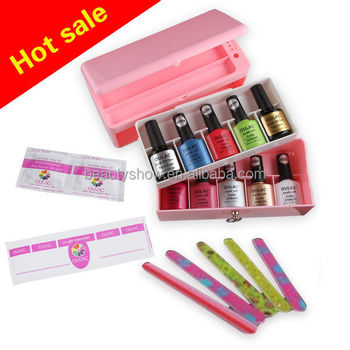 OULAC new fashion French Colors Professional Gel Nail Polish making kits
