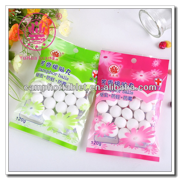 Effective Advanced Perfume Anti Insect and Deodorization Natural Camphor Ball