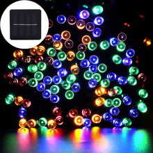 Wholesale 200 LED Colorful Fairy LED Lights String Solar Outdoor Led String Light