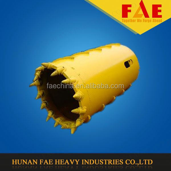 For Hard Rock Than 80MPa/Slightly Reinforced Concrete Bullet Teeth Drilling Core Barrel--FAECHINA