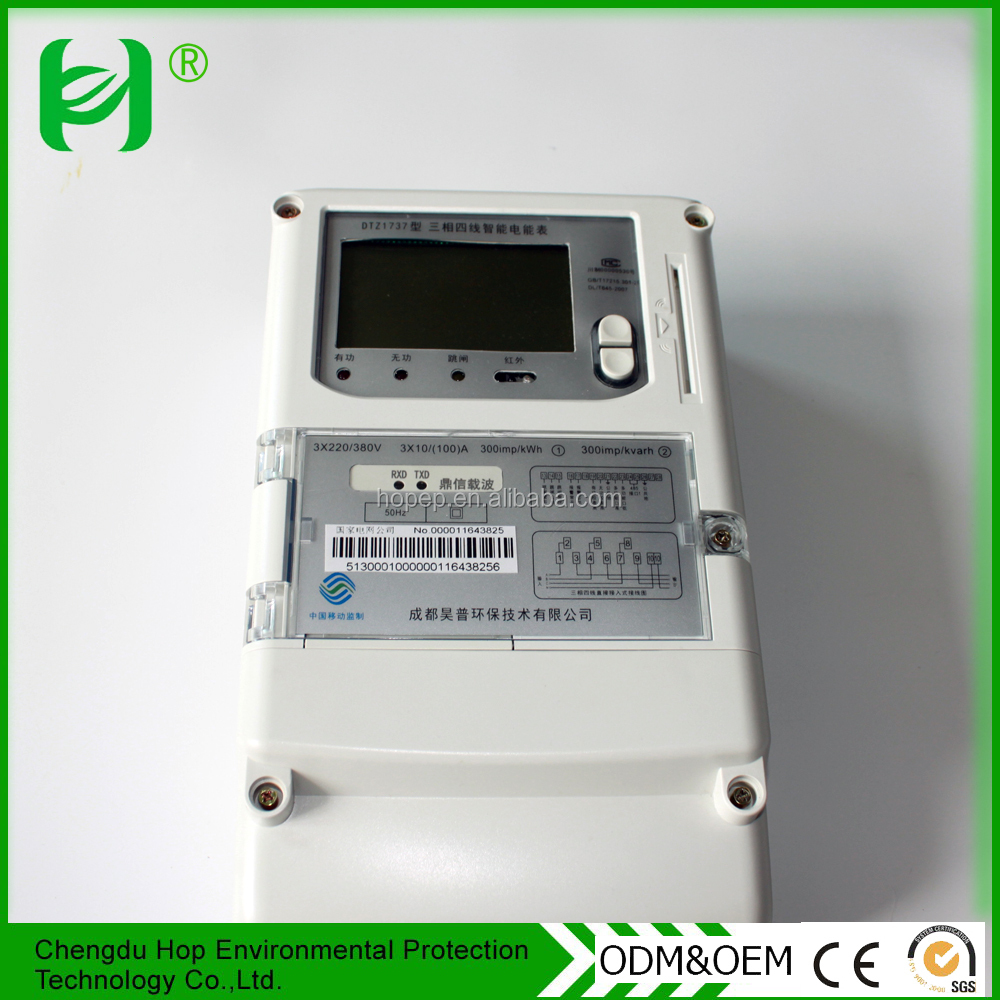 Customized professional digital display power meter With CE and ISO9001