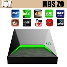 Amlogic S912 Octa Core Android 6.0 16GB ROM Bluetooth 4.0 Kodi 16.1 M9S TV Box Z9
