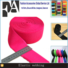 customed printed polyester colorful elastic band webbing