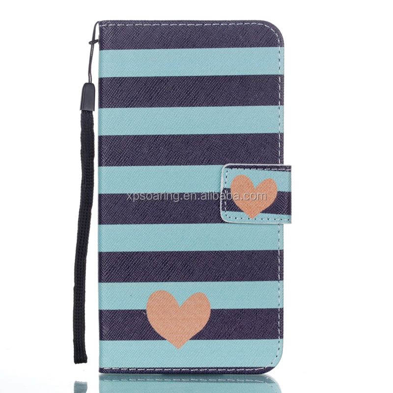 Credit card wallet case for Sony Xperia E6/<strong>L1</strong>, Butterfly flip case for Sony Xperia <strong>L1</strong>