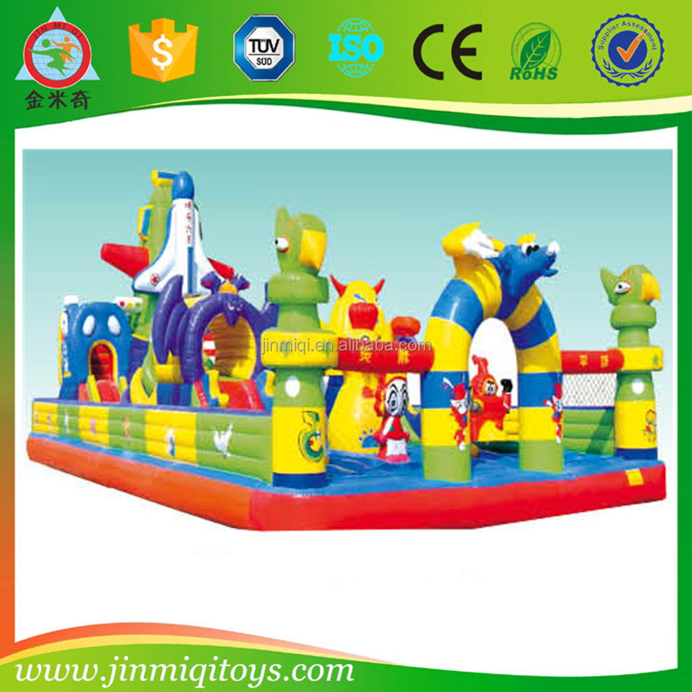 New inflatable castle price JMQ-P129B