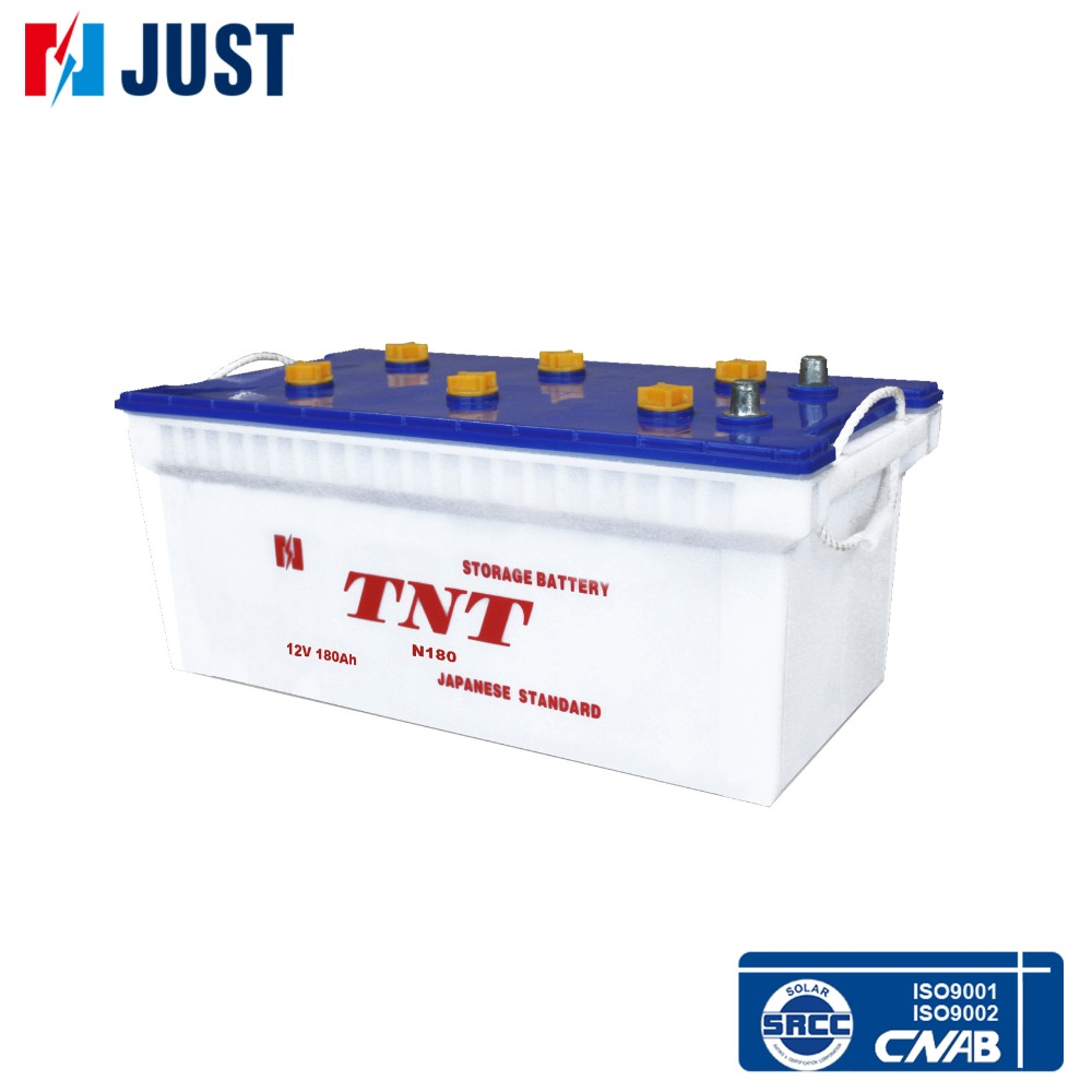 12V 180ah automobile battery N180