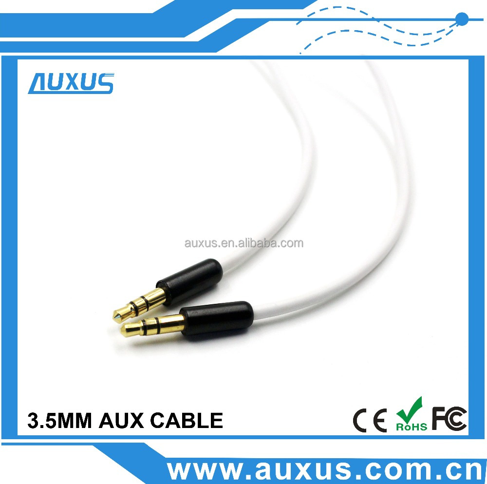 3.5 audio dc jack cable for car stereo speaker