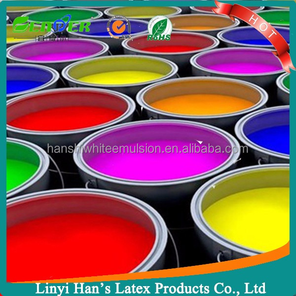 Han's Factory offer Exterior Wall acrylic polymer primer wall emulsion paint