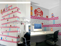 OEM Kid House Pvc/vinyl Donkey Kong wall Sticker