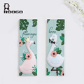 Fantastic flamingo design rectangle resin wall hanging for home decorations