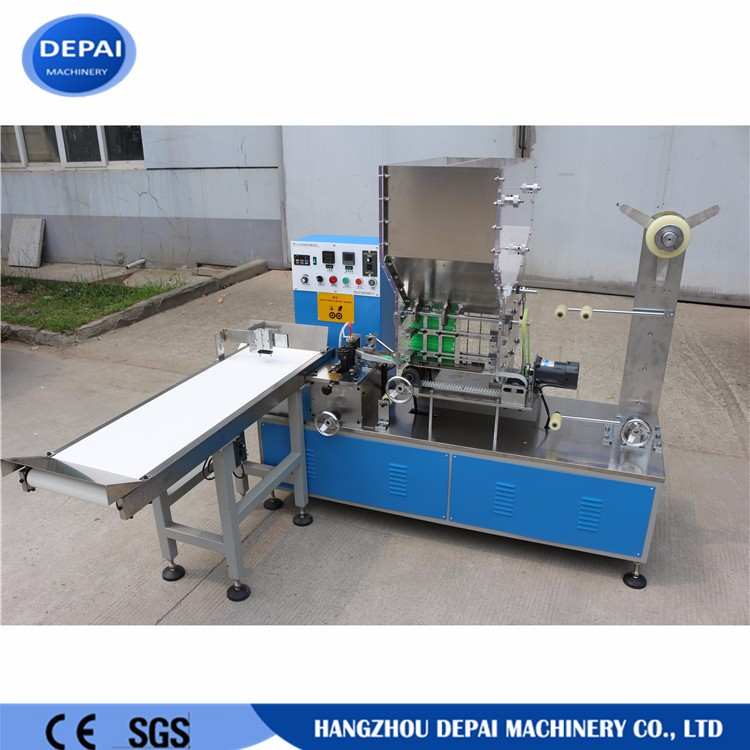 Top Quality single drinking straw packaging machine/straw wrapper plastic drinking