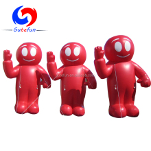 2018 popular giant advertising nfl inflatable player lawn figure for sale