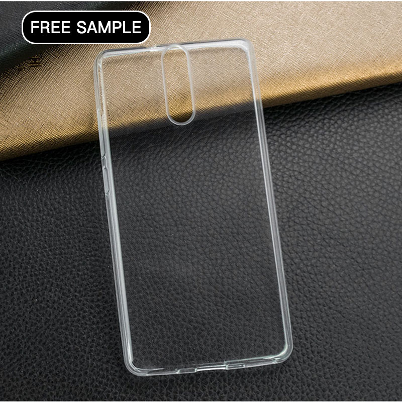 L/C payment free sample phone case for infinix Hot S x521 Transparent Clear soft DIY Case