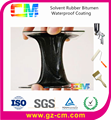Oil based Solvent Rubber Bitumen Waterproof Coating