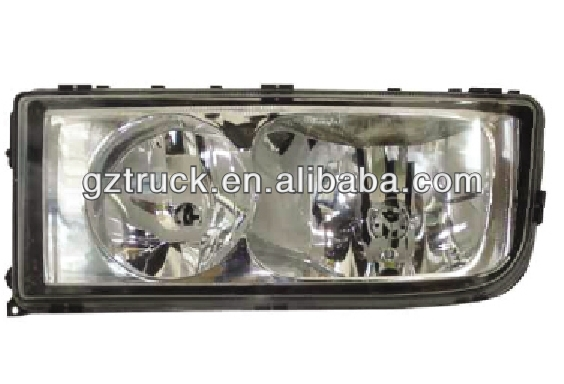Mercedes Benz truck body parts, Mercedes Benz truck spare parts, Mercedes Benz Axor truck HEAD LAMP