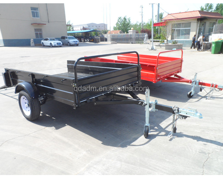 6X4 strong box trailers with power coated