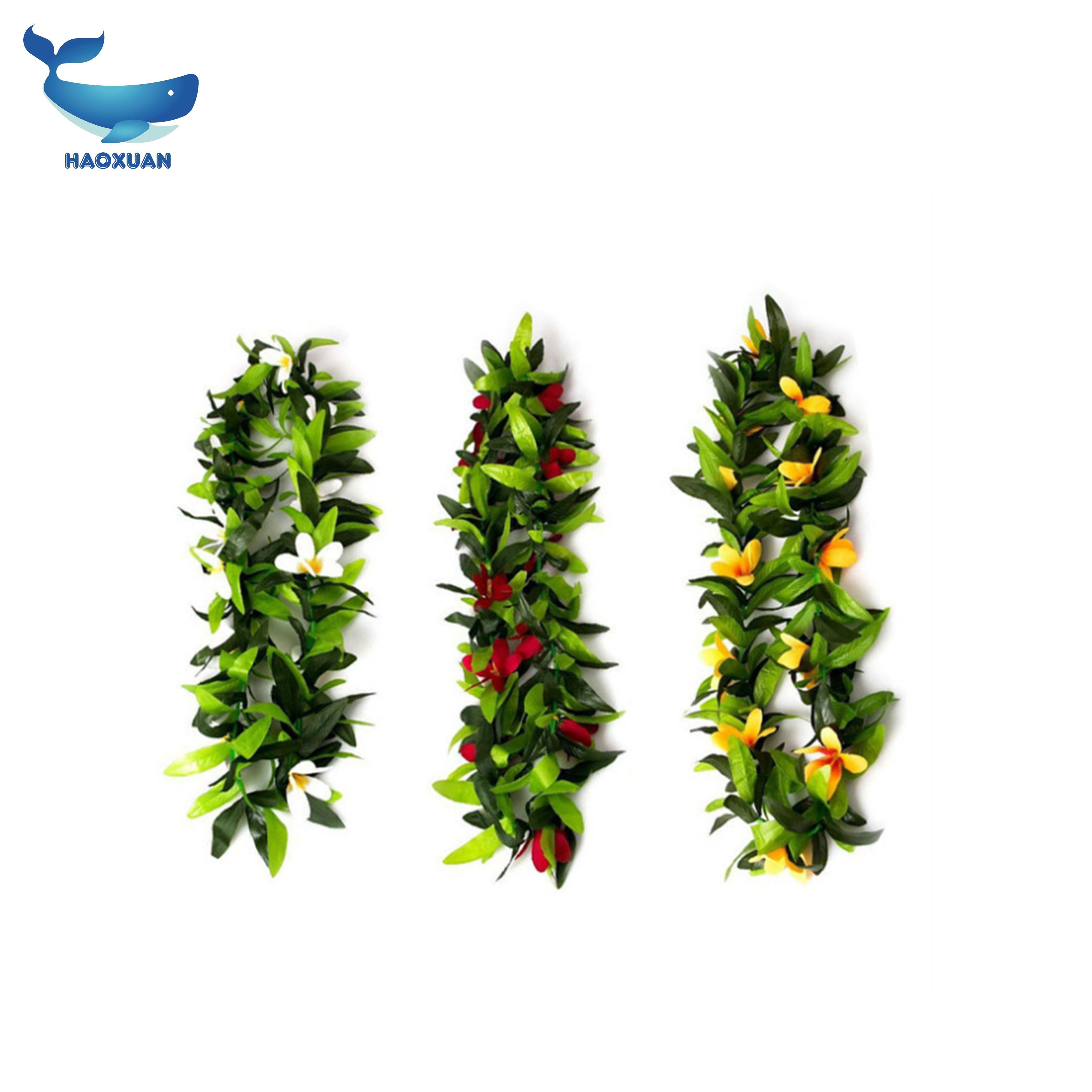 Wholesale hawaii party lei online buy best hawaii party lei from 2019 wholesale tropical hawaiian luau strongleistrong assorted color leaf izmirmasajfo